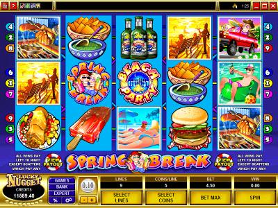 Spring Break Slot Machine