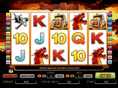 Dragon Master Slot Machine